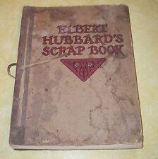 1923 ELBERT HUBBARDs SCRAP BOOK ROYCROFT ARTS CRAFTS VILLAGE AURORA NEW YORK VTG