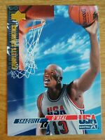 SHAQUILLE O'NEAL 🏀 1994-95 UPPER DECK USA COMPLETE STATISTICS CAREER HIGHLIGHTS