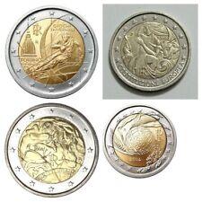 2 Euros Italia 2004, 2005 , 2006 y 2008. SC.