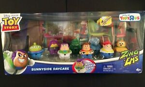 Toy Story Zing Ems Sunnyside Daycare -only At Toys R Us RARE BNIB pack of 8