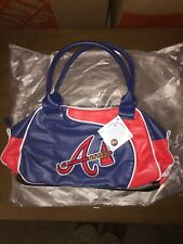 Atlanta Braves MLB Faux Leather Purse Major League Baseball Official Gear! NWT