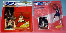 1997 1993 NEW JERSEY NETS lot Kerry Kittles Kenny Anderson 0 s/h Starting Lineup