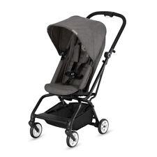Cybex Eezy S Twist Premium Baby Pram Stroller Manhattan Grey