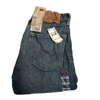 LEVIS 511 Mens Dark Blue Denim Jeans W31 L32 Slim Fit Brand New (L915)