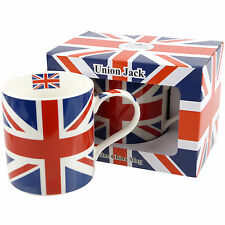 New China Union Jack Mug/Cup Gift Boxed UK Souvenir London Flag