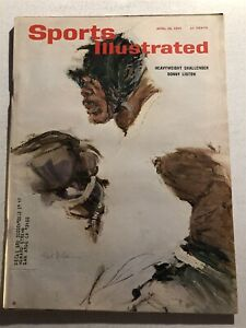 1965 Sports Illustrated CASSIUS CLAY vs SONNY LISTON Championship MUHAMMAD ALI