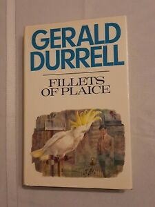 """Gerald Durrell- """"Fillets Of Plaice"""", 1st Ed., 1971 Hardcover"""