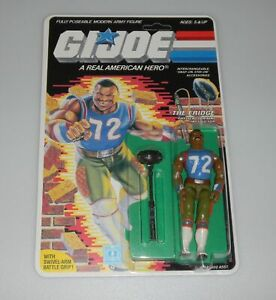 *RECARDED* 1986 GI Joe The Fridge Figure Complete Sealed *CUSTOM File Card Back*