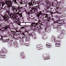 Glass Purple 3 - 3.9 mm Size Jewellery Making Beads