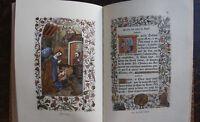 LIVRE D'HEURES GRUEL ENGELMANN , 1882 , PLEIN MAROQUIN , PARIS , IMPRIME JOUAULT