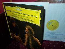 BARTOK: Piano concertos n°1 & 2 > Pollini Chicago Abbado / DG France stereo LP
