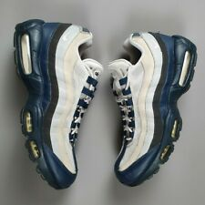 NIKE Air Max 95 749766-406 Yankees ARMORY NAVY/WOLF GREY-WHITE Size 9UK