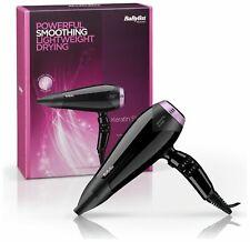 BaByliss 5335KU 2200w Keratin Shine Ceramic Standard Hair Dryer - Black/Pink.