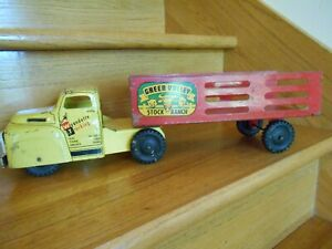 "Vintage Wyandotte Green Valley Stock Ranch Truck 18"" long *shipping included!*"