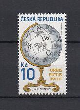 Repubblica Ceca 2008 n. 550 350 anniversario prima edizione enciclopedia  MNH