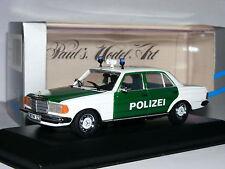 Minichamps 1977 Mercedes-Benz W123 200 Saloon German Police (Polizei) 1/43