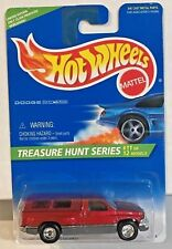 Hot Wheels 1996 Treasure Hunt Dodge Ram 1500 w/Real Riders #11 of 12 - LE / 25k