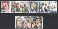 SPAIN MNH 1982 SG2674-79 Masters of Operetta