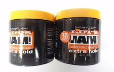 Let's Jam Hair Condition & Shine Gel Extra Hold 4.4 Oz  2-Pieces