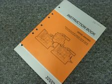 1996 Volvo Penta TD71AG TD71AP TD71AW TID71A TID71AG Diesel Engine Owner Manual