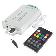 18 Key 12A RF Wireless Remote Controller For RGB LED Light Strip DC 12-24V