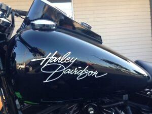Harley Davidson Tankaufkleber   21 ×8 cm.Top Neu 2 Stück Div.Farben !