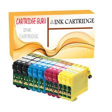 12 Cartuchos de tinta para Epson Stylus SX235W SX420W SX425W SX435W SX438W SX445W