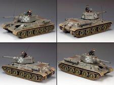 King & Country Ww2 German Army Ws199 T34/76 German Version Tank Mib