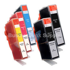 5+ PK 564XL New Ink Cartridge W/CHIP 564XL *INK LEVEL* 564XL (2BK+3CLR) for HP