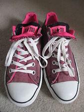 Converse Rose/Noir Baskets Taille 5