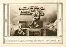 1915 German Submarine Disappearing Gun Lake Of Blood Lucerne