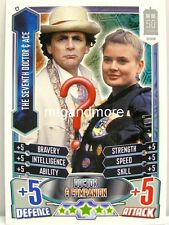 #C07 The Seventh Doctor & Ace - Alien Attax Doctor Who - 50th Anni