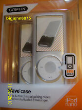 Griffin Wave Case iPod Nano two Pack 8283-NWAVBW 4th gen