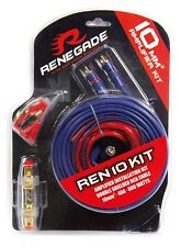 Renegade Kabelset REN10KIT 10mm² 40 A Stromkabel Audiokabel Sicherung *UVP 24,90