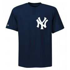 acfd472cbae Majestic Two-Button New York Yankees Replica Adult Jersey 50 50 Blend SZ S