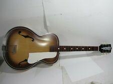Vintage Kay Old Kraftsman Arch Top Sunburst Acoustic Guitar