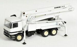 CON40106 - Mercedes Actros 6x4 Pump To Concrete Schwing 34X