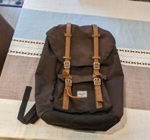 Herschel Little America Backpack 25L - Black - Laptop Rucksack