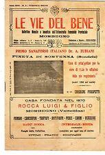 MORBEGNO  LE  VIE  DEL  BENE  ARTICOLO SULLA MORTE DEL SOTTOTENENTE RONCONI 1942