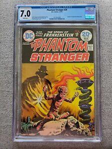 Phantom Stranger #29 CGC graded 7.0 FN/VF Feb/Mar 1974 Bronze Age DC Comics