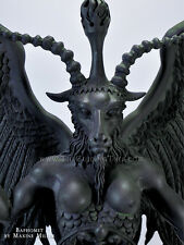 Baphomet Statue - Horned Goat God by Maxine Miller ~ Eliphas Levi Classic  ~ 15""