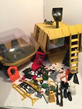 VINTAGE 1972 G.I. JOE ADVENTURE TEAM MOBILE SUPPORT VEHICLE WITH ACCESSORIES