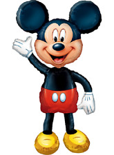 "Mickey Mouse Balloon Giant Gliding Foil Balloon Glides 52"" Tall Disney!"