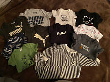 Lot of New/used baby boy clothes Newborn/0-3 months