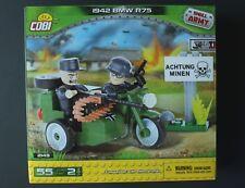 Cobi Small Army 1942 German BMW R75 Motorcycle  & Sidecar 2149
