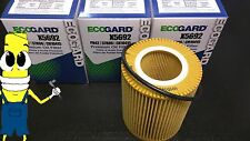 Premium Oil Filter for Volvo S60 with 3.0L Engine 2011-2015 Pack of 3
