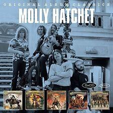 MOLLY HATCHET - ORIGINAL ALBUM CLASSIC 5 CD NEU