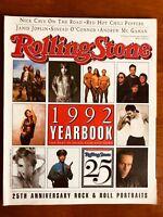 ROLLING STONE 1992 Yearbook Janis Joplin Sinead O'Connor Michael Jackson Nirvana