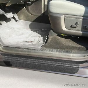 09-18 fits Dodge Ram 1500 2500 8pc Door Sill Step Protector Threshold Shield Pad