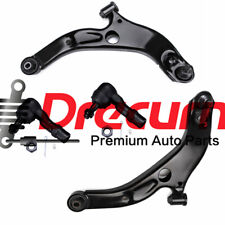 4Pcs Front Control Arm Tie Rod End Set For Mazda Protege Protege 5